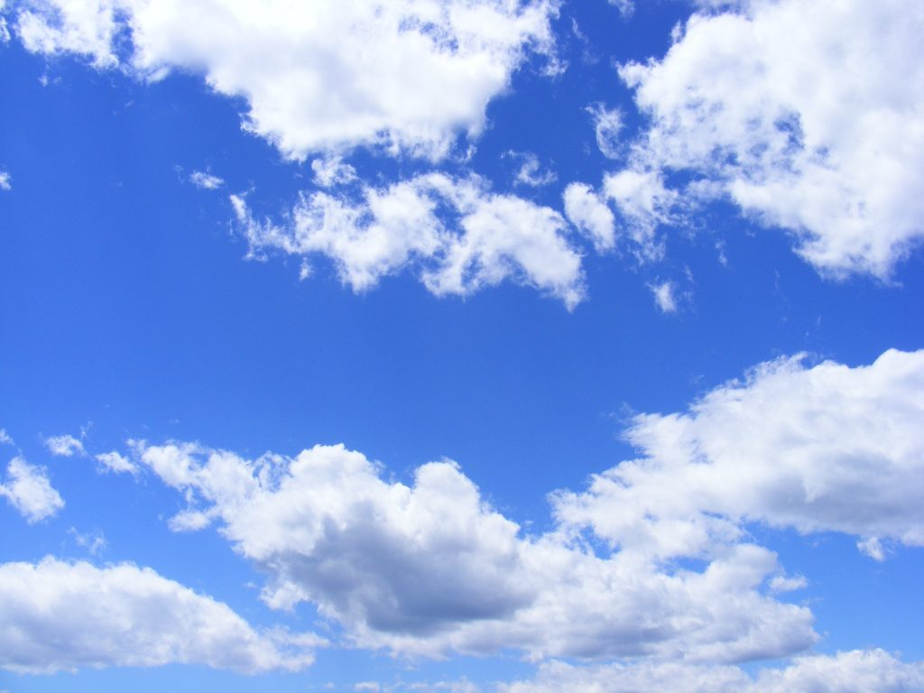 Wake up to a happy life with mindfulness. It is as easy as looking at a cloud.